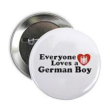 Everyone Loves a German Boy Button