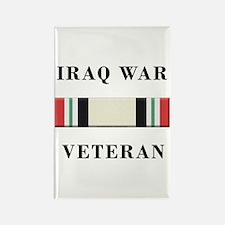 Iraq War Veterans Rectangle Magnet