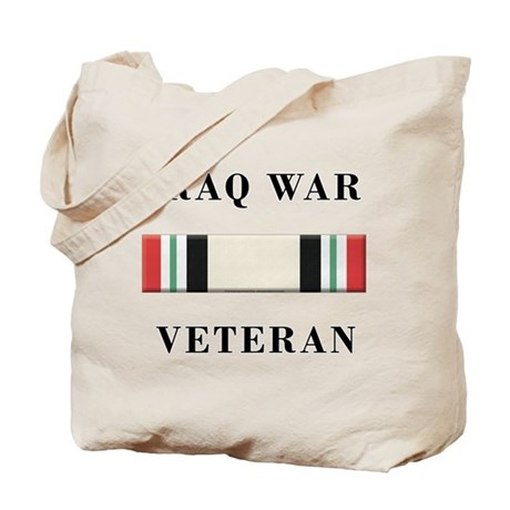 Iraq War Veterans Tote Bag