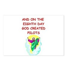 pilots Postcards (Package of 8)