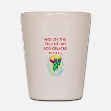 pilots Shot Glass