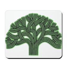 Oakland Tree Hazed Green Mousepad