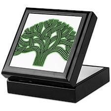 Oakland Tree Hazed Green Keepsake Box