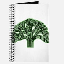 Oakland Tree Hazed Green Journal