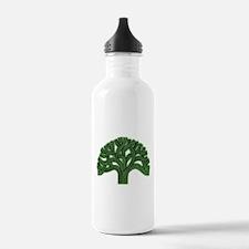 Oakland Tree Hazed Green Water Bottle
