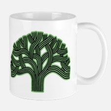 Oakland Tree Hazed Green Mug