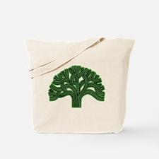 Oakland Tree Hazed Green Tote Bag