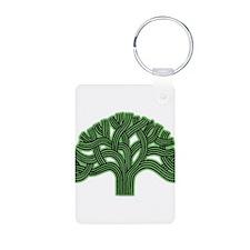 Oakland Tree Hazed Green Keychains