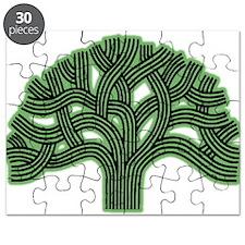Oakland Tree Hazed Green Puzzle