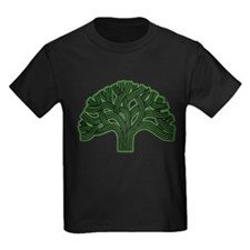 Oakland Tree Hazed Green T