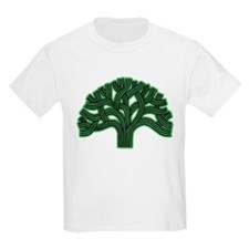 Oakland Tree Hazed Green T-Shirt