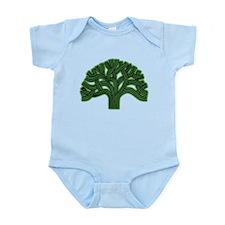 Oakland Tree Hazed Green Infant Bodysuit