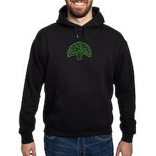 Oakland Tree Hazed Green Hoody