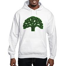 Oakland Tree Hazed Green Hoodie