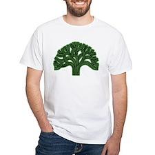 Oakland Tree Hazed Green Shirt
