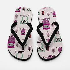 Hooty Owl Flip Flops