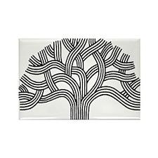 Oakland Tree Rectangle Magnet