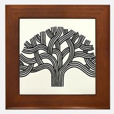 Oakland Tree Framed Tile