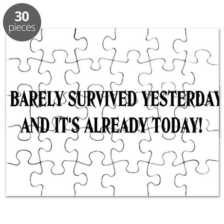 Barely survived Puzzle