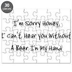 sorry honey Puzzle