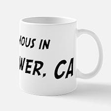 Famous in Bellflower Mug