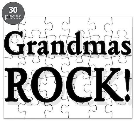 Grandmas Rock ! Puzzle