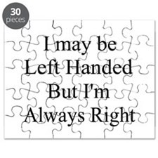 Left handed ... Puzzle