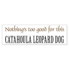 NTG Catahoula Leopard Dog Bumper Bumper Sticker