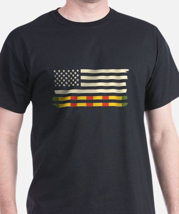Vietnam Veteran Flag T-Shirt