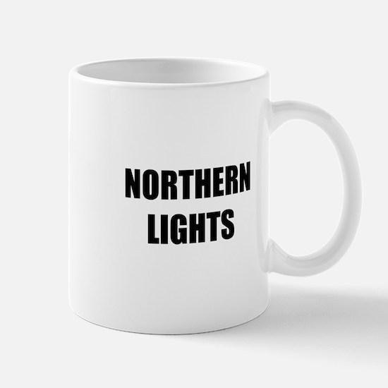 the northern lights Mug