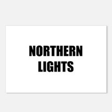 the northern lights Postcards (Package of 8)