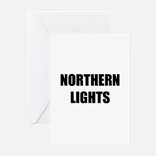 the northern lights Greeting Cards (Pk of 10)