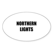 the northern lights Decal