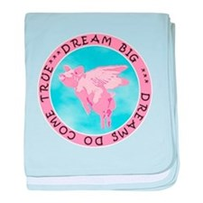 DREAM BIG baby blanket
