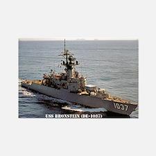 USS BRONSTEIN Rectangle Magnet