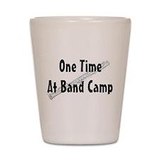 Band Camp Shot Glass