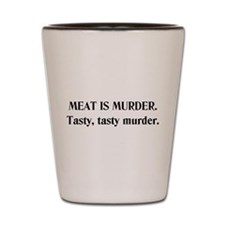 Murder Shot Glass