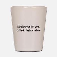 little world Shot Glass