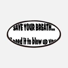 Save your breath Patches