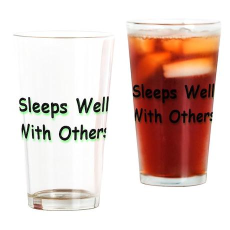 Sleeps Well Drinking Glass