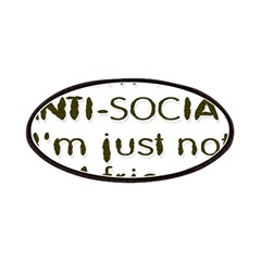 Anti-Social Patches