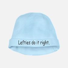 Lefties baby hat