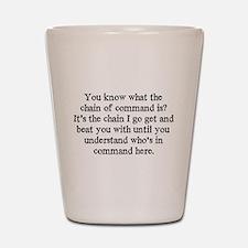 command Shot Glass