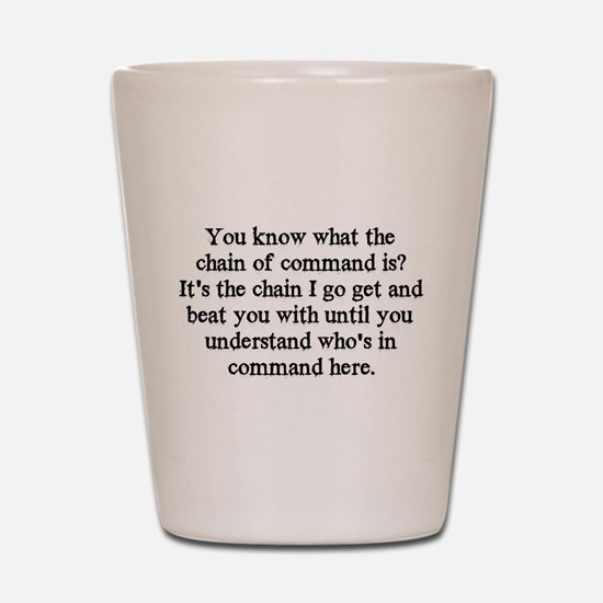 command Shot Glass