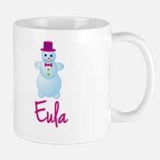 Eula the snow woman Mug