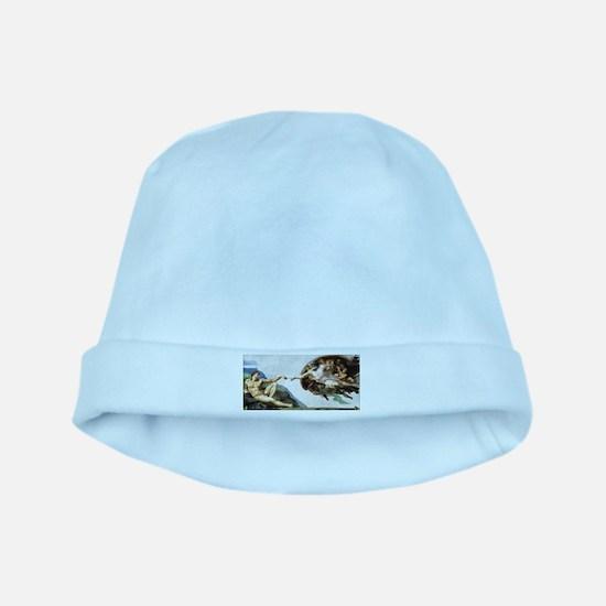 Creation of Adam baby hat