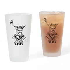 Joker Drinking Glass