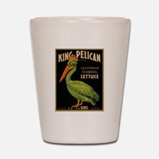 King Pelican Shot Glass