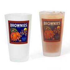 Brownies Brand Drinking Glass