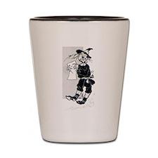 Scarecrow Shot Glass